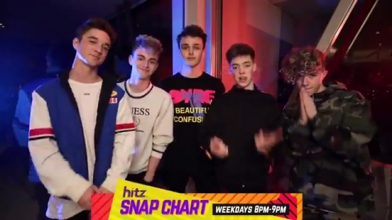 "Why Don't We called ""Trust Fund Baby"" tonight on Snap Chart in Hitz"