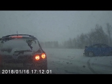 ДТП 16 января 2018 трасса Кемерово - Ленинск-Кузнецкий, 7 автомобилей