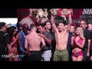 FULL  UNCUT - CANELO ALVAREZ VS. GENNADY GOLOVKIN WEIGH IN AND FACE OFF VIDEO