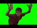 Crazy Frog Bros GREEN Screen guy tshirt Red Dance.mp4