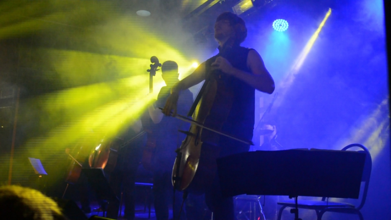 RockCellos - The Show Must Go On(Queen cover, отрывок)(04.01.18)