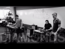 The Boxer Rebellion - Diamonds (Pandora Whiteboard Sessions 2013)