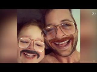 Отец и сынок взрывают Instagram
