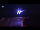 Aircrafts on Chinese carrier Liaoning achieves night landing