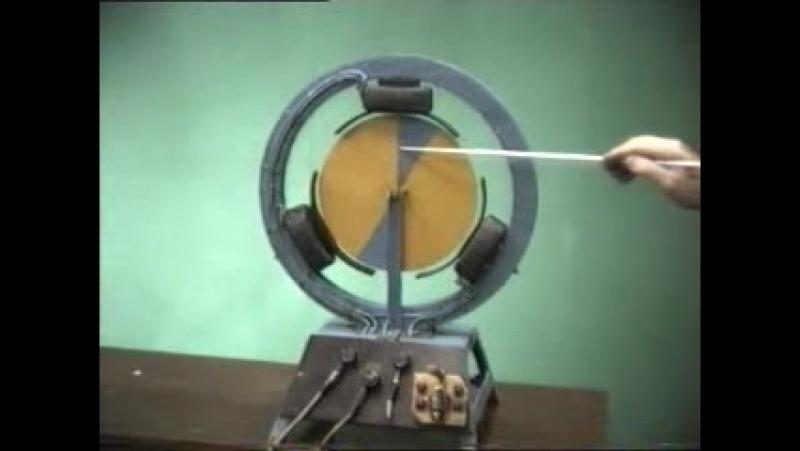 Модель асинхронного двигателя.3gp