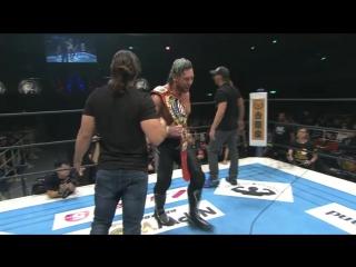 Кенни Омега узнал своего противника на шоу Wrestle Kingdom 12! [Wrestling Home]