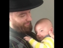 Adam Anderson в Instagram: «Happy to father someone else's child for a few moments earlier. There was some initial resistance bu