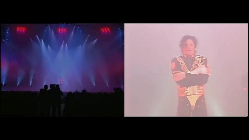 Michael Jackson - Jam Live Royal Brunei (Pro vs. amateur)