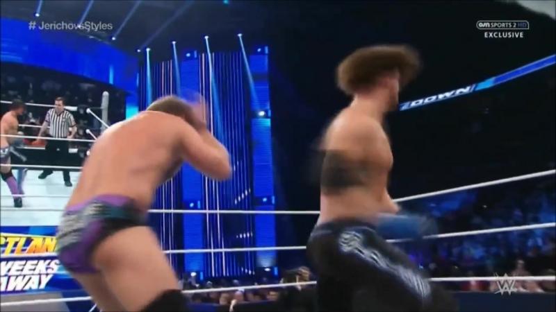 Chris Jericho vs AJ Styles