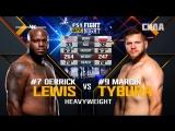 FIGHT NIGHT AUSTIN Derrick Lewis vs Marcin Tybura