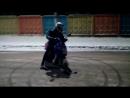 Зимний дрифт на скутере!