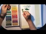 Масляная пастель Pentel Oil Pastel - Пейзаж