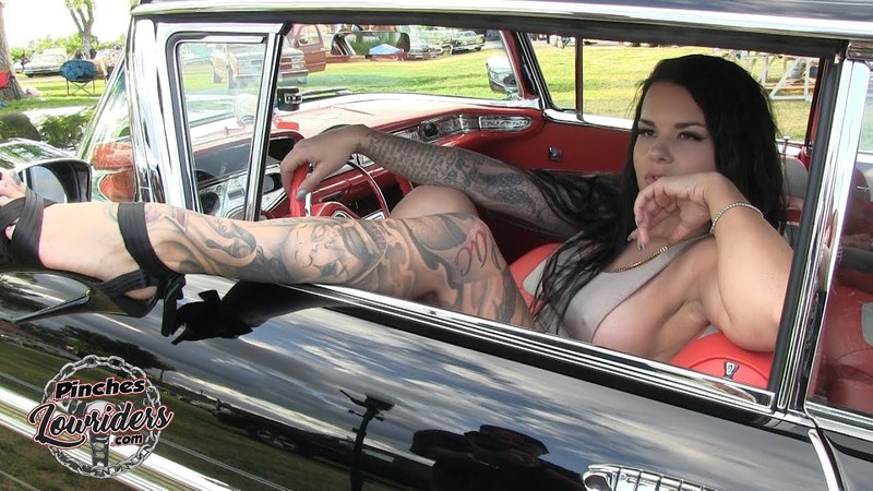 Model Katillac with Dark Side 58 Impala from Tradicionals C.C.