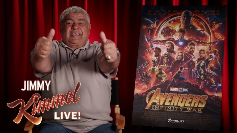 Yehya Reviews Avengers Infinity War
