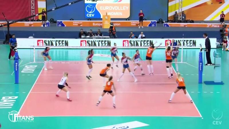 Bojana Zivkovic BEST Volleyball SETTER from SERBIA. Amazing Volleyball SETTER.
