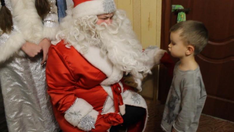 Поздравление подопечных Благотворительного Фонда поддержки многодетных семей Калининградской области Улыбка