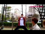NCT playing in the park (Lucas Ten Kun Jungwoo) Funny Moments