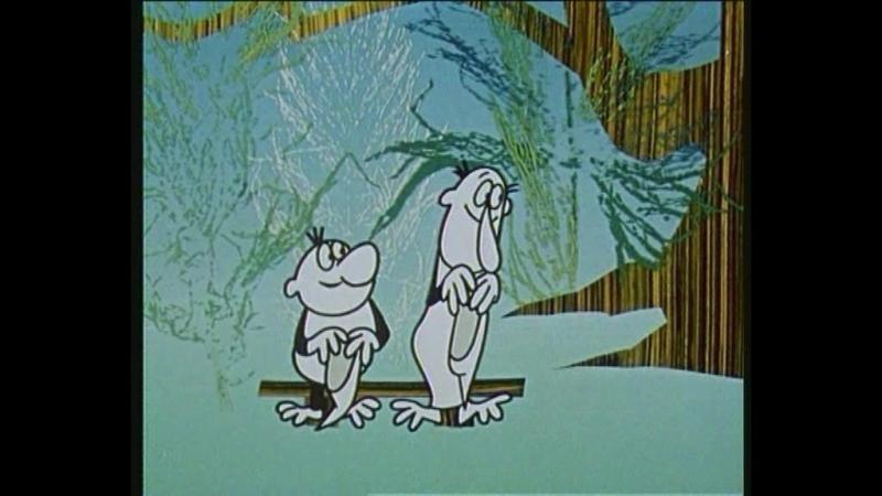 Как Кржемелик и Вахмурка поздоровались с мышкой Филипкой