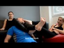 Amber  Eve Feet Gets Massaged  Licked