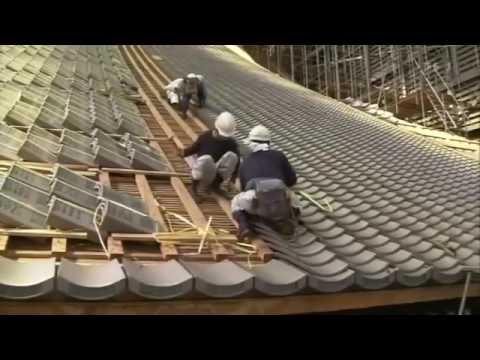 [ Begin Japanology Plus ] Season 3 EP25 Roof Tiles 2010 07 16