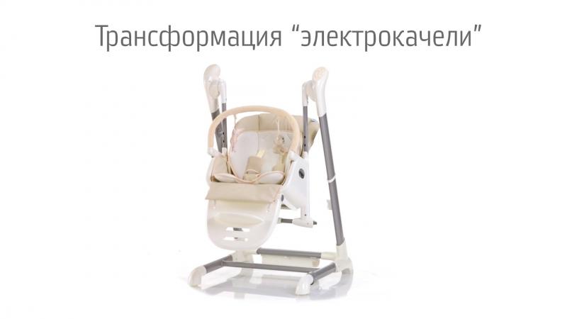 Cтульчик-качели 3 в 1 Nuovita Unico (Нуавита Юнико), удобство и комфорт для мамы и малыша!
