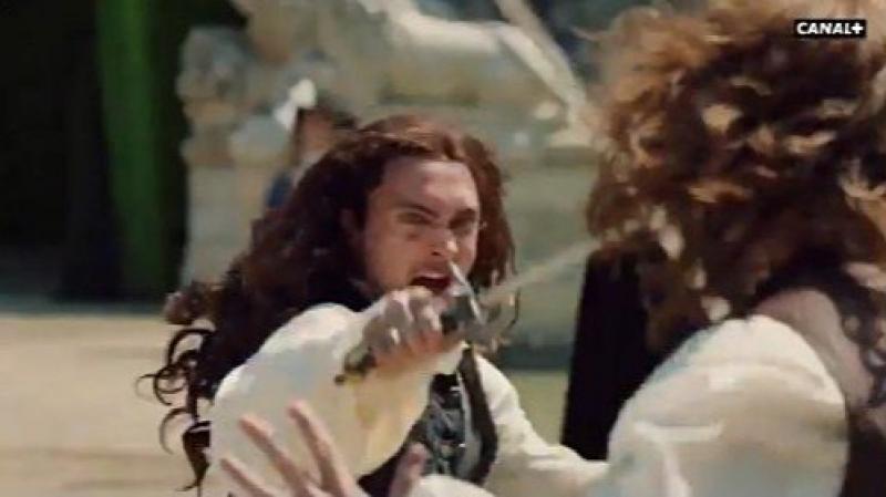 Please meet George Blagden ou Louis XIV pour vous servir