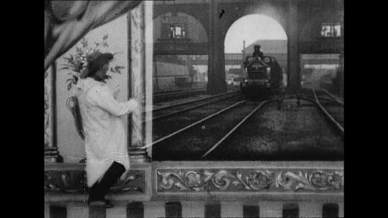 Коллекция фильмов Роберта У. Поля. Соотечественник впервые смотрит движущиеся картинки (1901)