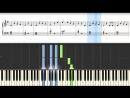 Как играть на пианино Джингл Белс - How to Play Jingle Bells
