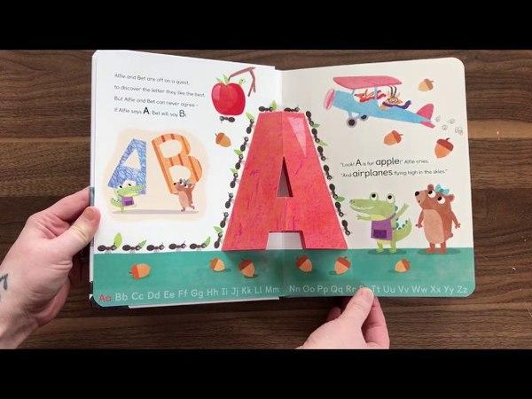 Alfie and Bet's ABC pop-up Alphabet - Usborne Books More