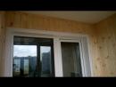 Остекление балкона с отделкой пластиковыми панелями и евровагонкой