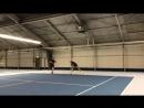 Валеев и Воронин попали под обстрел теннисных мячей