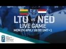 Lithuania Netherlands Full Game 2017 IIHF Ice Hockey World Championship Division I Group B