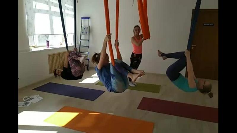 Курс преподавателей йоги в гамаках AntiGravity