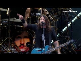 Foo Fighters - Let There Be Rock (AC/DC cover) - Corona Capitol, Mexico City, Mexico (18_11_2017)