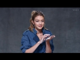 Gigi And Bella Hadid Take The Sculpture Challenge _ British Vogue