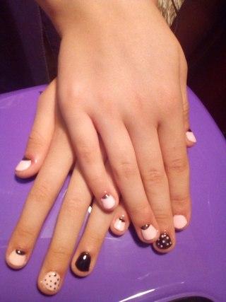 Ногти Шеллак Фото Дизайн Темные Цвета