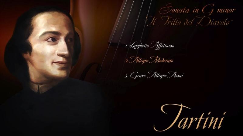 """Giuseppe Tartini Sonata in G minor Il Trillo del Diavolo"""""""