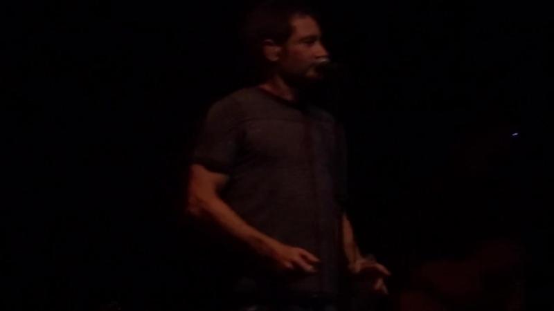 David Duchovny Concert in Vancouver - Not Dad Dancing