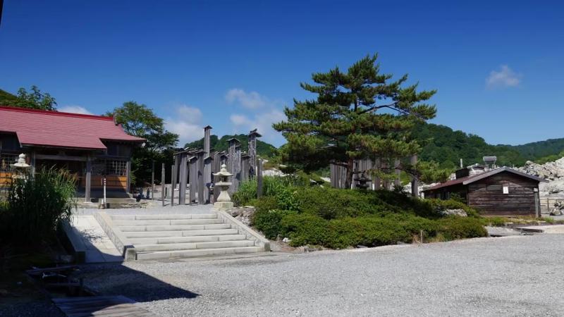 Osorezan Bodai ji Temple Aomori