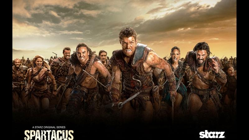 Spartacus blood and sand, сожми кулак и бей, Louna, Война проклятых