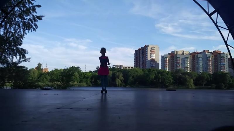 Выступление нашей звёздочки 👧⭐💙💗✨ Танец дождя💧наша_гордость💪