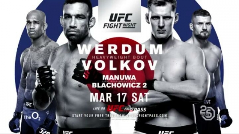 🥊 UFC Fight Night 127