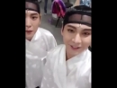 16 05 18 IG Live Story @ Soow456 with Himchan B A P YEODO 여도