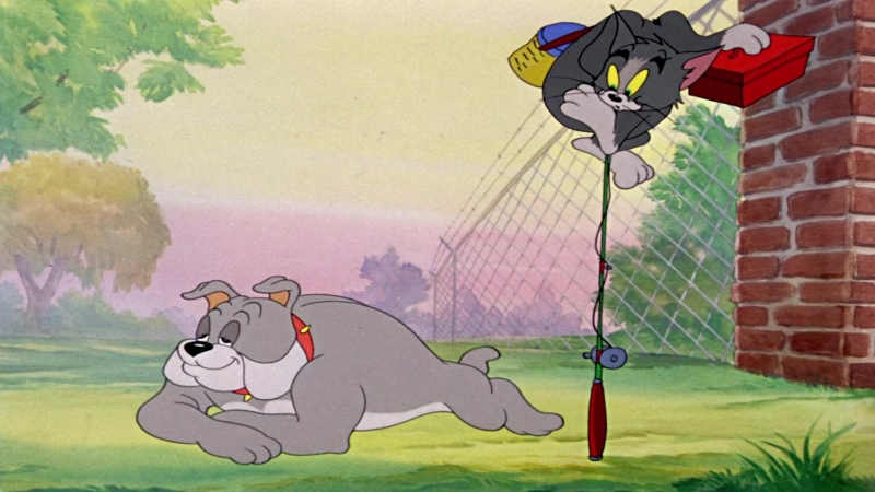 Том и Джерри (Tom Jerry) Кот На Рыбалке - Cat Fishin (1947)