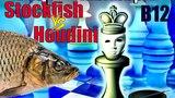 Яростный Каро-Канн в партии шахматных движков. Stockfish - Houdini