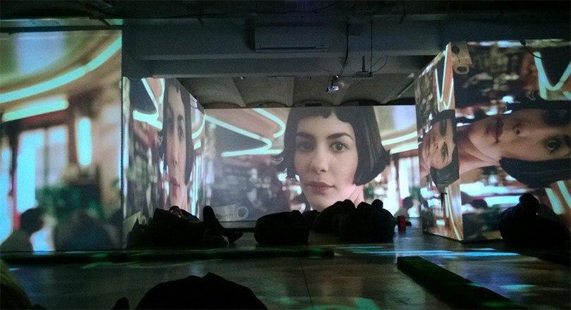 Кинотеатр в «Люмьер-холле»