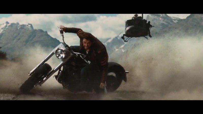 Motorcycle scene Wolverine X Men Origins 2009