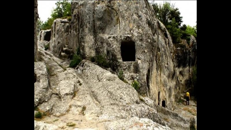 Чуфут-Кале,пещерный город,крепость,Крым,2017г.