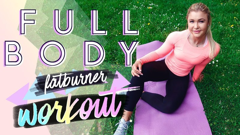15min FATBURN Full Body Workout | Home Training zum mitmachen!