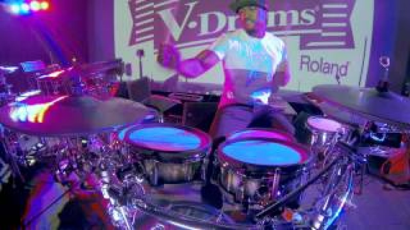 Tony Royster Jr. soloing with the Roland TD-30KV V-Pro Kit!